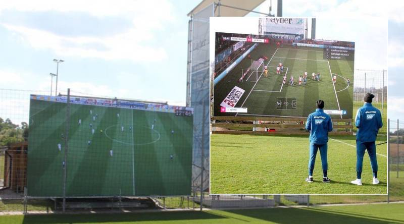 Hoffenheim Install Giant Screen At Training Ground For Players To Play FIFA
