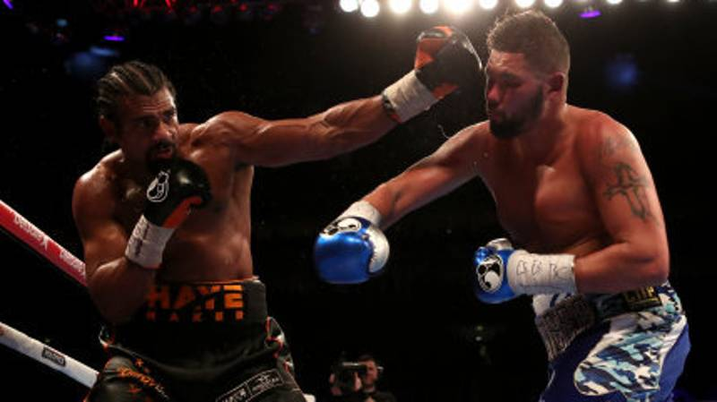 Tony Bellew Vs. David Haye Rematch Official For December 17th
