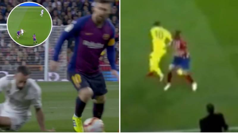 Compilation Of Lionel Messi Humiliating Great Players In 2018/19 Is Just Heavenly
