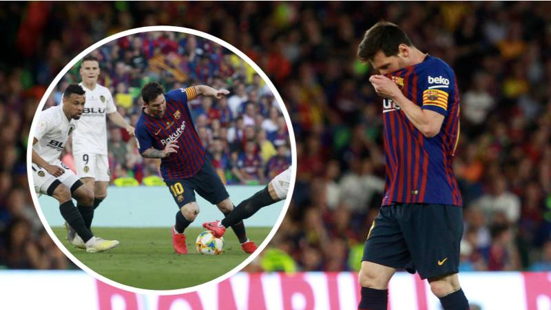 Lionel Messi Had 31% Of Possession In The Copa Del Rey Final, Valencia Had 23%