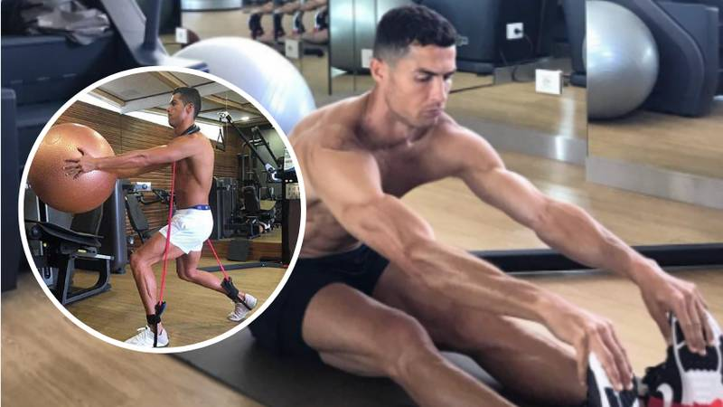 Cristiano Ronaldo Is Spending His Pre-Season Holiday In The Gym