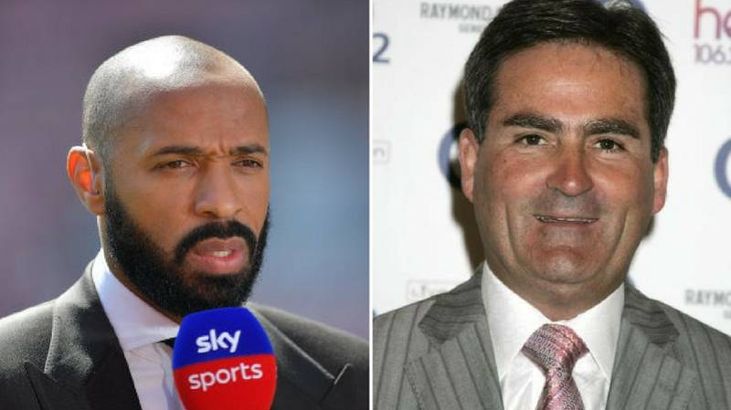 Richard Keys Has A Theory On Why Thierry Henry Didn't Attend Wenger's Last Match