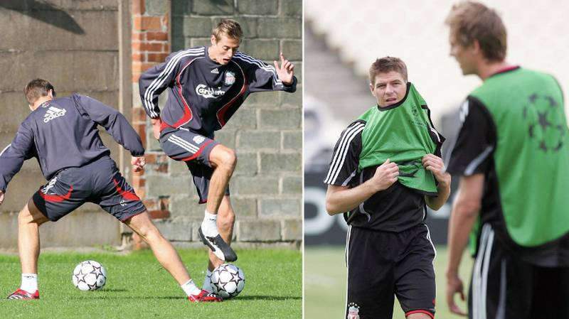 What Steven Gerrard Did To Peter Crouch During His First Liverpool Training Sessions