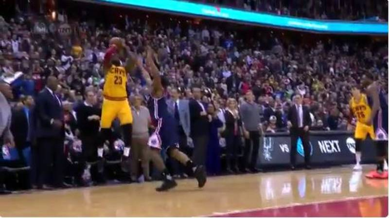 WATCH: LeBron James Hits Incredible Last Second Three Pointer