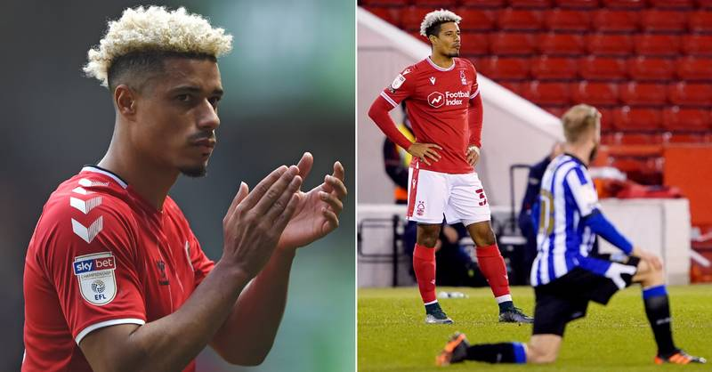 Nottingham Forest's Lyle Taylor Hits Out At 'Black Lives Matter' And Taking A Knee