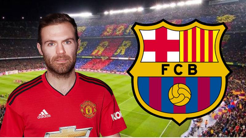 Barcelona In Talks To Sign Manchester United's Juan Mata On A Free Transfer