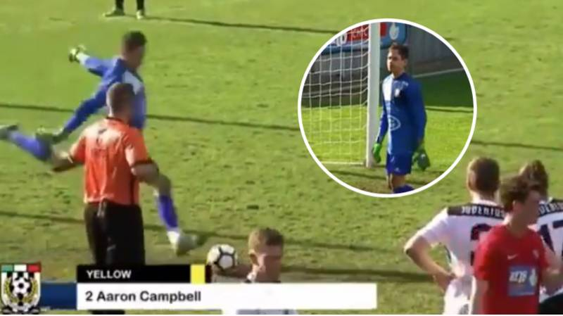Goalkeeper Goes Viral For The Most Incredible Piece Of Football Sh*thousery