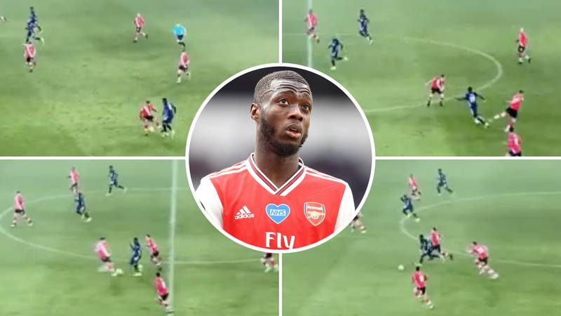 Nicolas Pepe Destroys Two Southampton Players With Back-To-Back Nutmegs In Arsenal's 3-1 Win