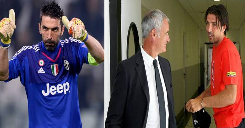 Gianluigi Buffon Posts Classy Message To Claudio Ranieri And Leicester City