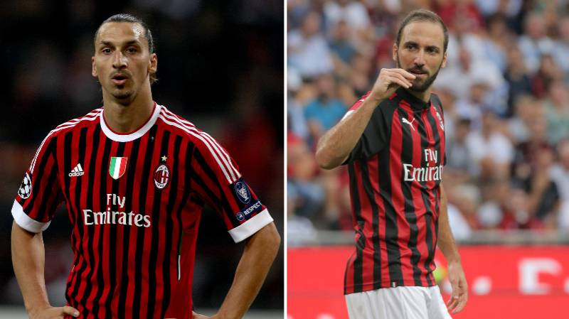 Gonzalo Higuain Has His Say On AC Milan Signing Zlatan Ibrahimovic