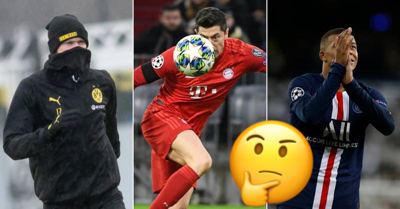 QUIZ: Can You Name The Top Goal + Assist Players In The 2019/20 Champions League?