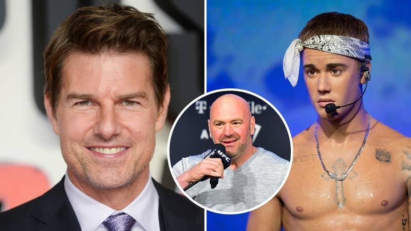 Dana White Confirms Interest In Hosting Tom Cruise Vs Justin Bieber Inside UFC Octagon