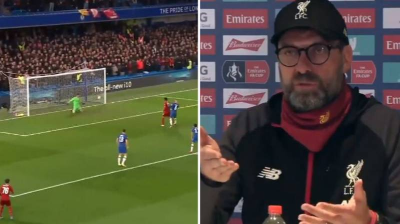 Jurgen Klopp Blames The Ball For Adrian's Mistake For Willian's Goal