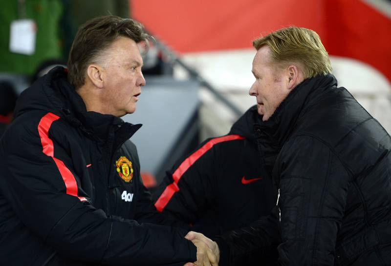 Ronald Koeman Speaks Out Over Manchester United's Treatment Of Louis Van Gaal