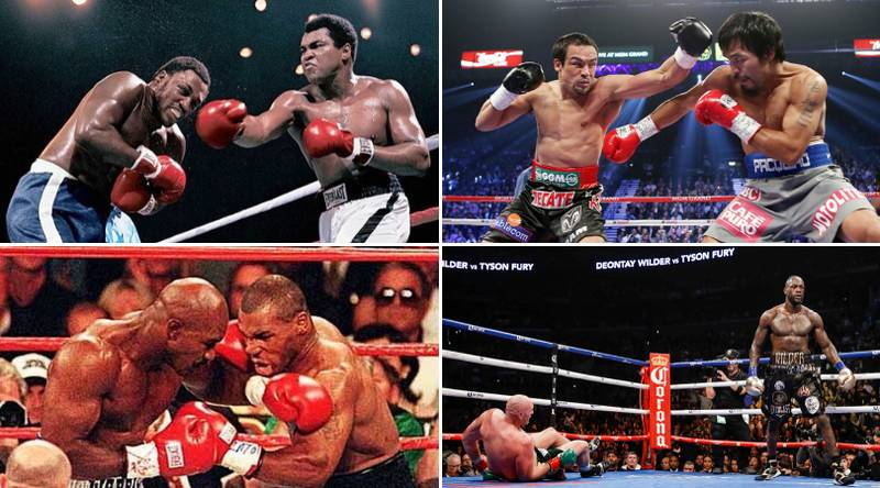 The 50 Greatest Boxing Fights Of All Time Have Been Named And Ranked
