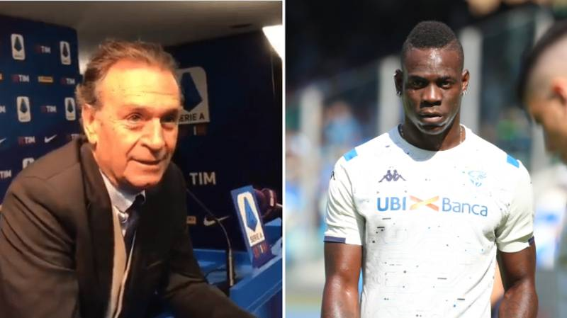 "Brescia President Massimo Cellino 'Jokes' Mario Balotelli ""Is Black And Is Working On Clearing Himself"""