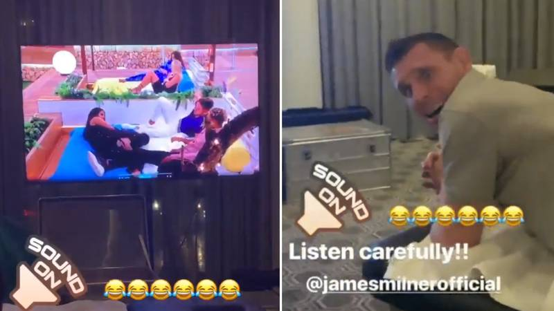 James Milner's Reaction When They Mentioned 'Boring Milner' On Love Island Is Absolute Gold