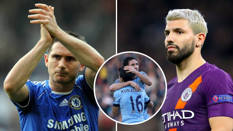 Sergio Aguero Names Frank Lampard As His Favourite Premier League Goalscorer Of All Time​