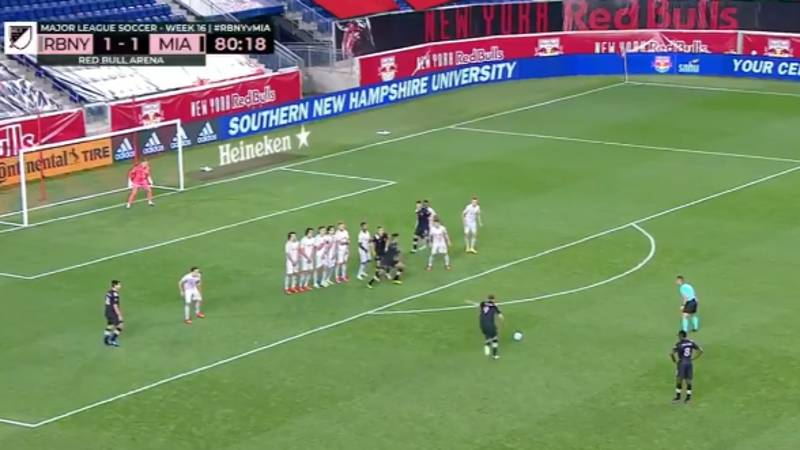 Gonzalo Higuain Scores His First MLS Goal And It's An Absolute Belter