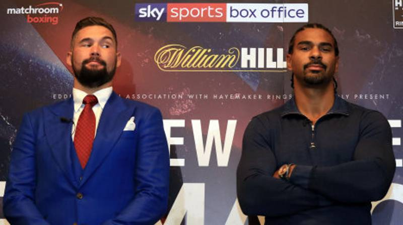 David Haye Has Withdrawn From His Rematch Against Tony Bellew