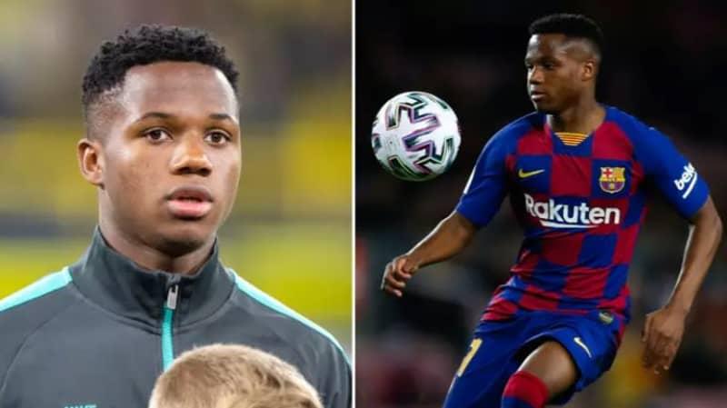 Manchester United Named As Club Who Bid €100 Million For Ansu Fati