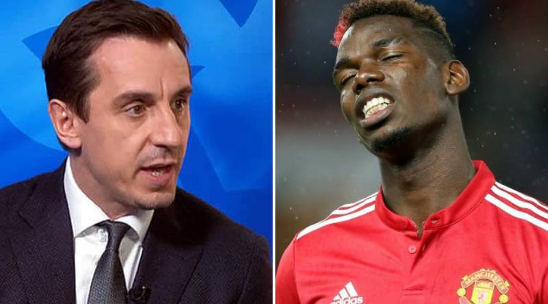 Gary Neville Names The One Problem He Has With Paul Pogba