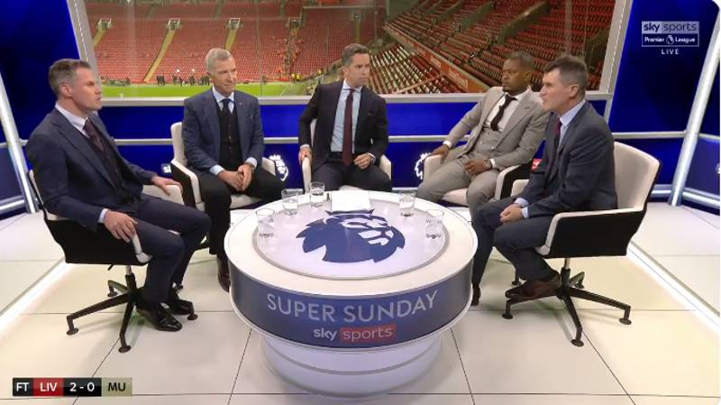 Roy Keane Got Heated With Jamie Carragher When Discussing Ole Gunnar Solskjaer