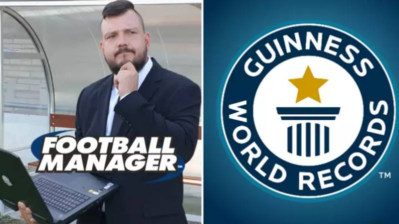 Football Fan Breaks Guinness World Record For Longest Ever Football Manager Save