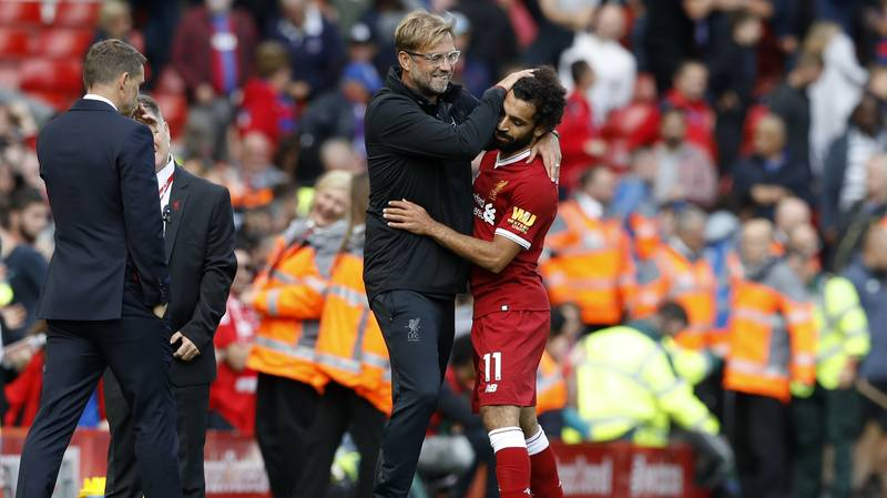 The Simple Bit Of Advice Klopp Gave Salah 45 Minutes Into His Liverpool Debut