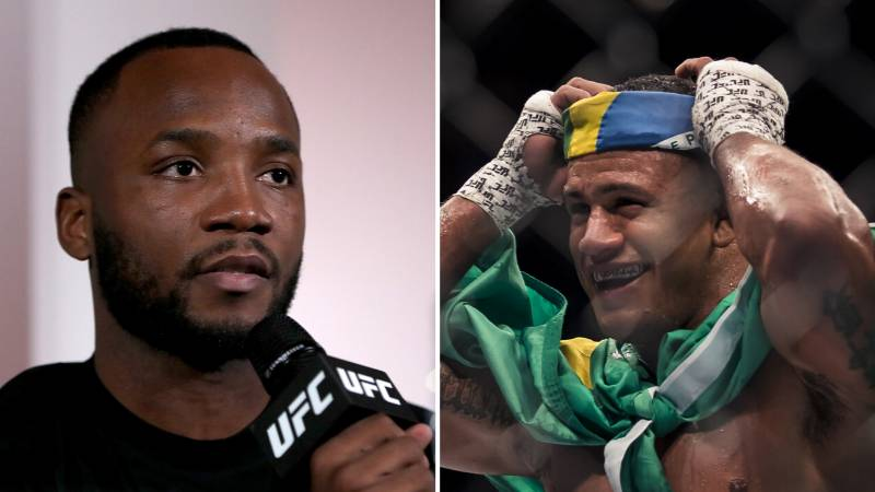 Gilbert Burns And Leon Edwards Get Into It On Twitter After Kamaru Usman Defends Title At UFC 251