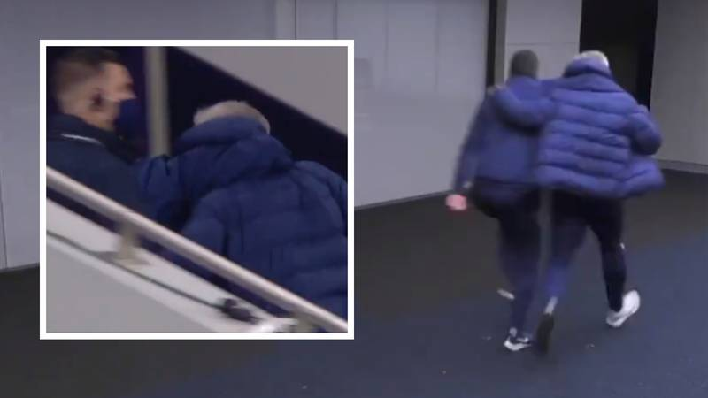 Jose Mourinho Skipping Down The Tunnel After Beating Chelsea Is Box-Office Entertainment