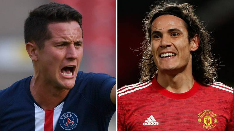 Ander Herrera Drops X-Rated Rant Over Edinson Cavani's Three-Game Ban By FA