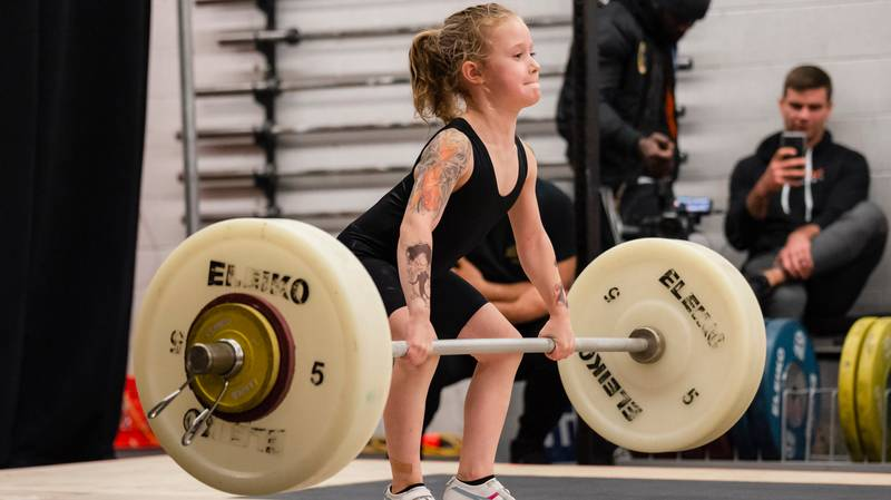 'Strongest Seven-Year-Old Girl In The World' Can Deadlift 80kg