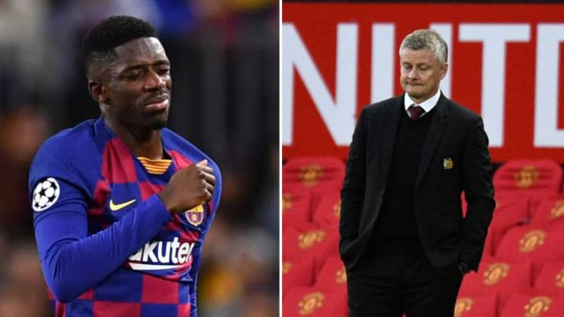 Manchester United's Attempts To Sign Ousmane Dembele Have Fallen Through