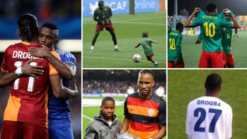 The Sons Of Didier Drogba And Samuel Eto'o Made Their Debuts This Weekend