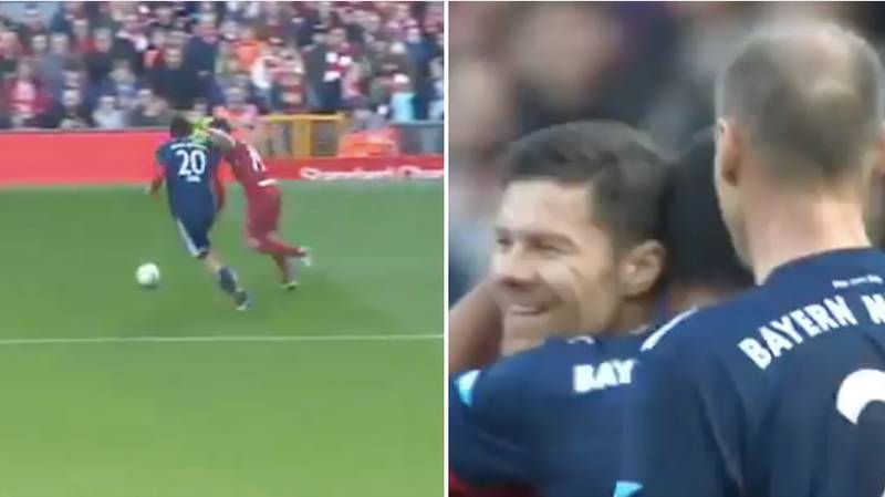 Xabi Alonso Is Still Assisting Bayern Munich Players, Even When He's Wearing Red