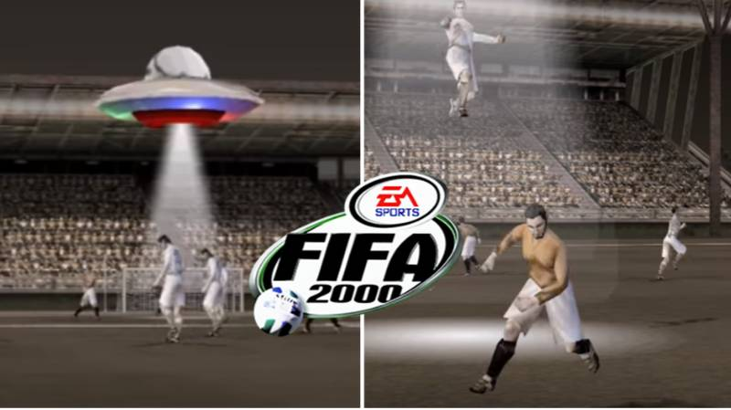 Remembering When Aliens Would Abduct Players On FIFA 2000
