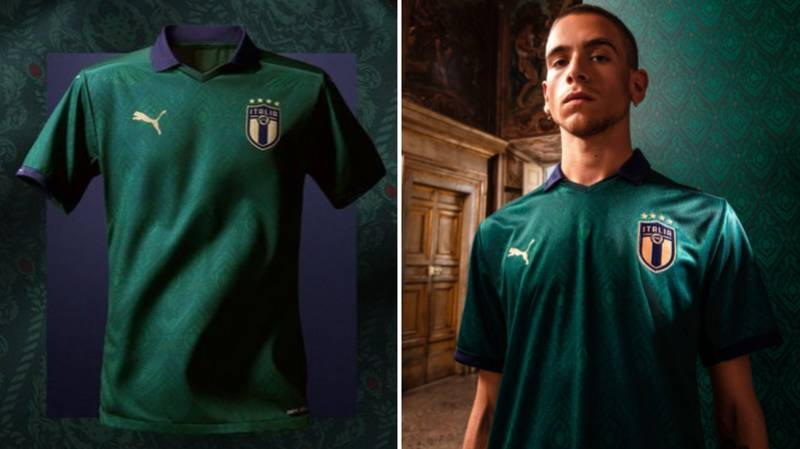 Italy Release New Commemorative Green Third Kit And It's Pure Fire
