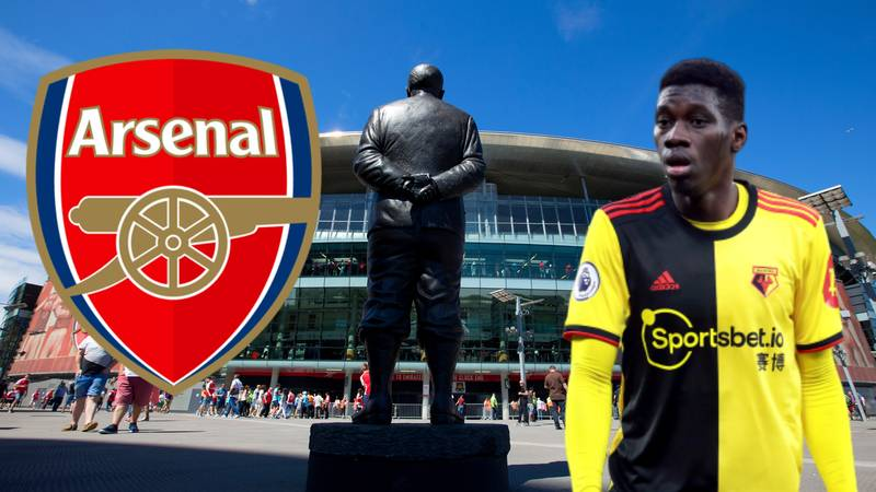 Arsenal Fans Are Desperate For An Ismaila Sarr Statue Following Liverpool Heroics