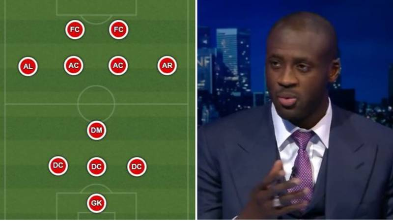 Yaya Toure's Mind-Blowing Ultimate XI Will Never Ever Be Beaten