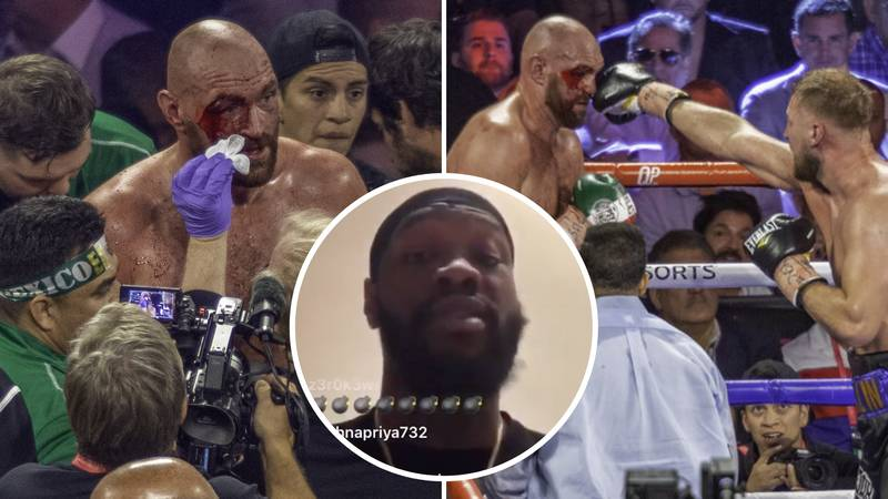 Deontay Wilder Hints At New Theory Over Rumours That Tyson Fury's Cut Reopened