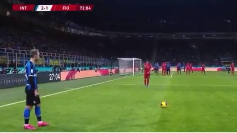 Spurs Fans Enjoyed Christian Eriksen's First Free-Kick For Inter Milan