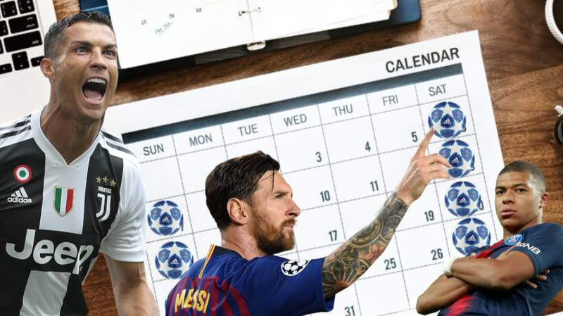 Champions League Games Could Be Coming To Weekends