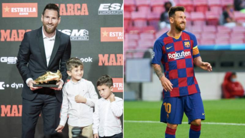 Lionel Messi Reveals How His Son Reacted When He Told Him He Wanted To Leave FC Barcelona