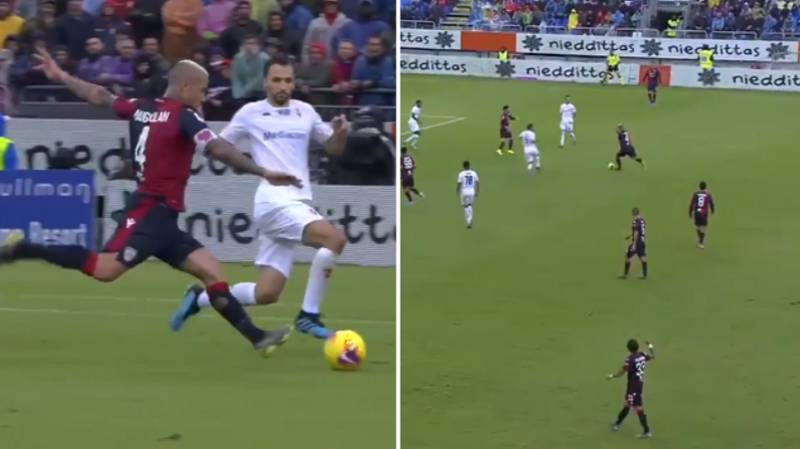 Radja Nainggolan Scores Stunner And Puts On Three Assists In Cagliari's 5-2 Win