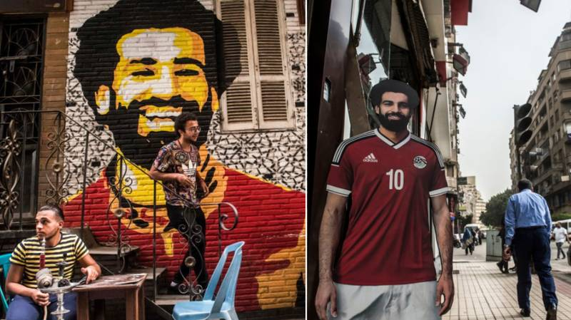 The Streets Of Cairo Are Basically A Tribute To Mohamed Salah