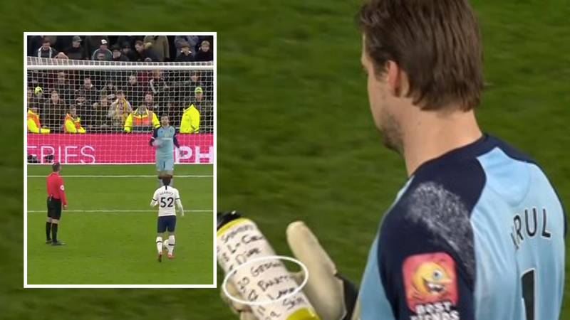 Tim Krul Proves He's The Master Of Penalties With Brilliant Trick Vs Spurs