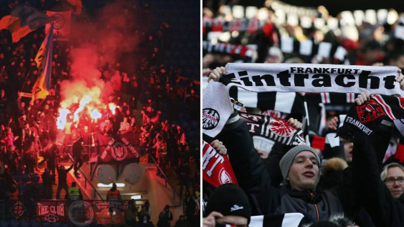 Eintracht Frankfurt Are Taking 13,500 Fans To The San Siro For Europa League Clash With Inter Milan
