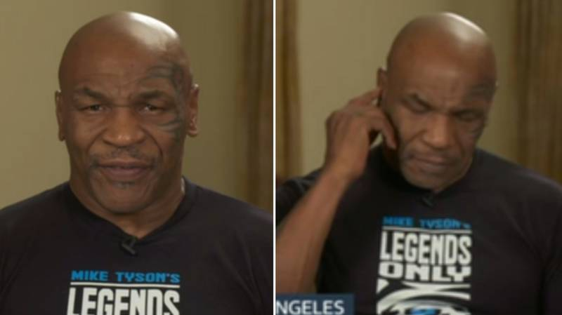 Mike Tyson's Interview On Good Morning Britain Was An Absolute Disaster