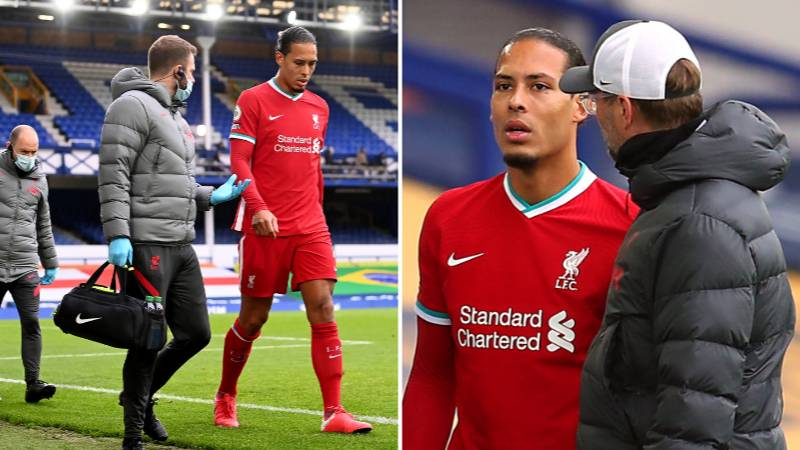"""Liverpool Players Are """"Devastated"""" And """"Can't Sleep"""" Because Of Virgil Van Dijk Injury"""